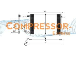 Nissan-Condenser-CO436