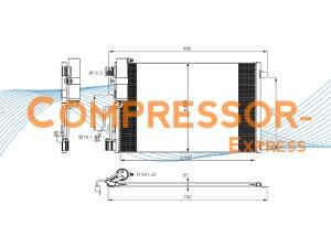 Nissan-Condenser-CO437