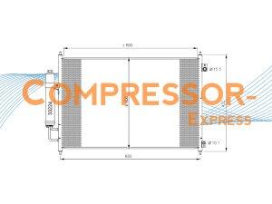 Nissan-Condenser-CO439