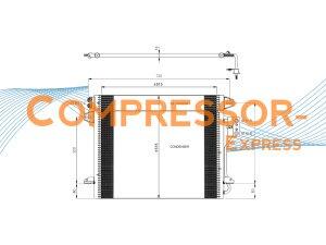 Chrysler-Dodge-Condenser-CO444