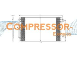 Chrysler-Condenser-CO446