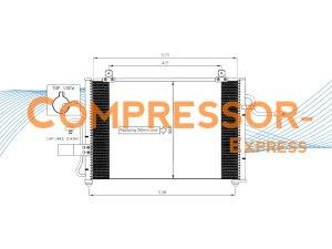 Chevrolet-Daewoo-Condenser-CO458
