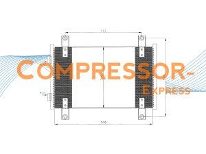 Citroen-Fiat-Peugeot-Condenser-CO507
