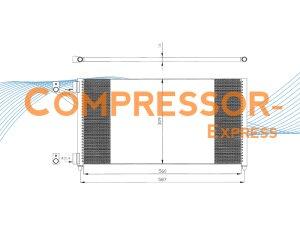 Fiat-Condenser-CO522