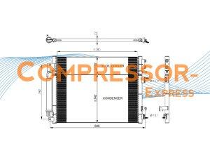 Chrysler-Lancia-Condenser-CO543