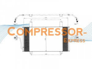 Opel-Renault-Condenser-CO561