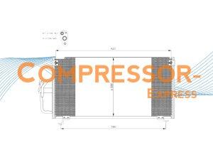 Mitsubishi-Condenser-CO829