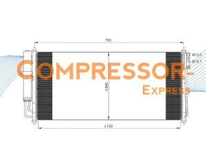 Nissan-Condenser-CO836