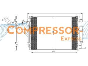 Nissan-Condenser-CO843