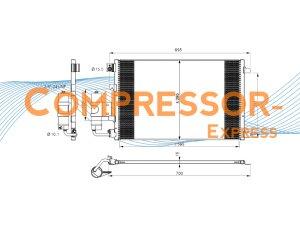 Nissan-Condenser-CO899