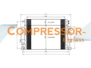 Chrysler-Condenser-CO902