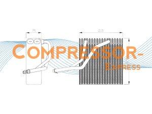 Audi-Seat-Skoda-Evaporator-EV006