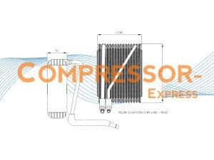 Ford-Seat-VW-Evaporator-EV007