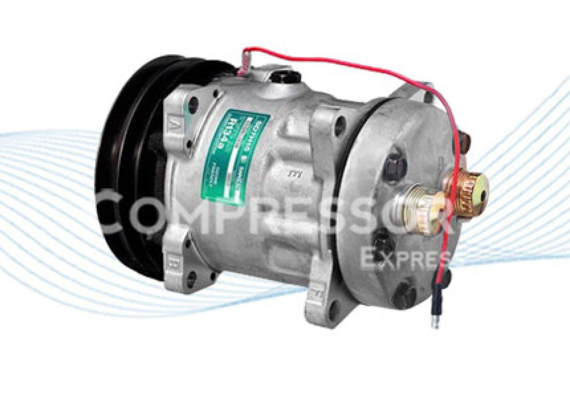 Sanden 7h15 Ac Compressor 8019 N A