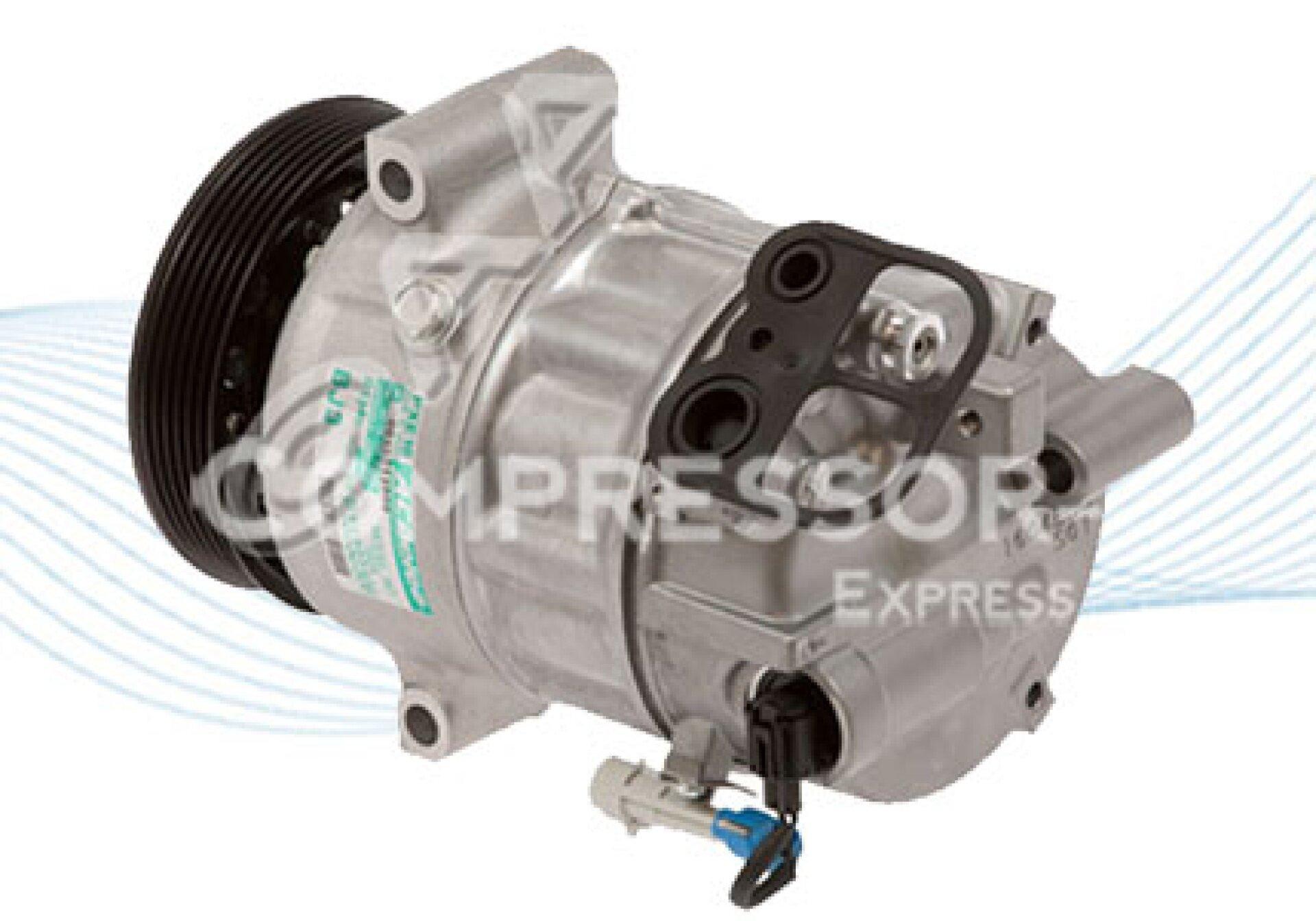 Sanden pxe16 compresor de aire acondicionado 13232306 for Compresor de aire acondicionado