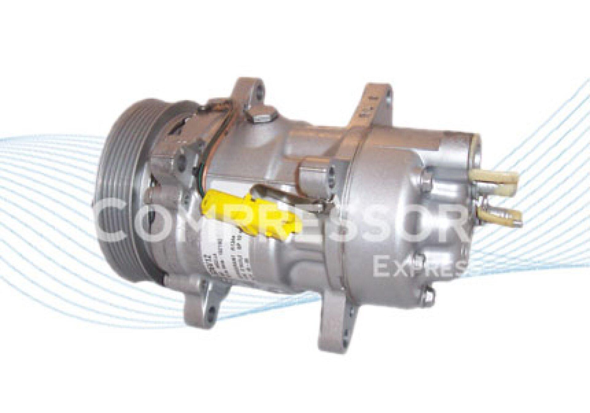 Sanden 6v12 compresor de aire acondicionado 1437 6453kw for Compresor de aire acondicionado
