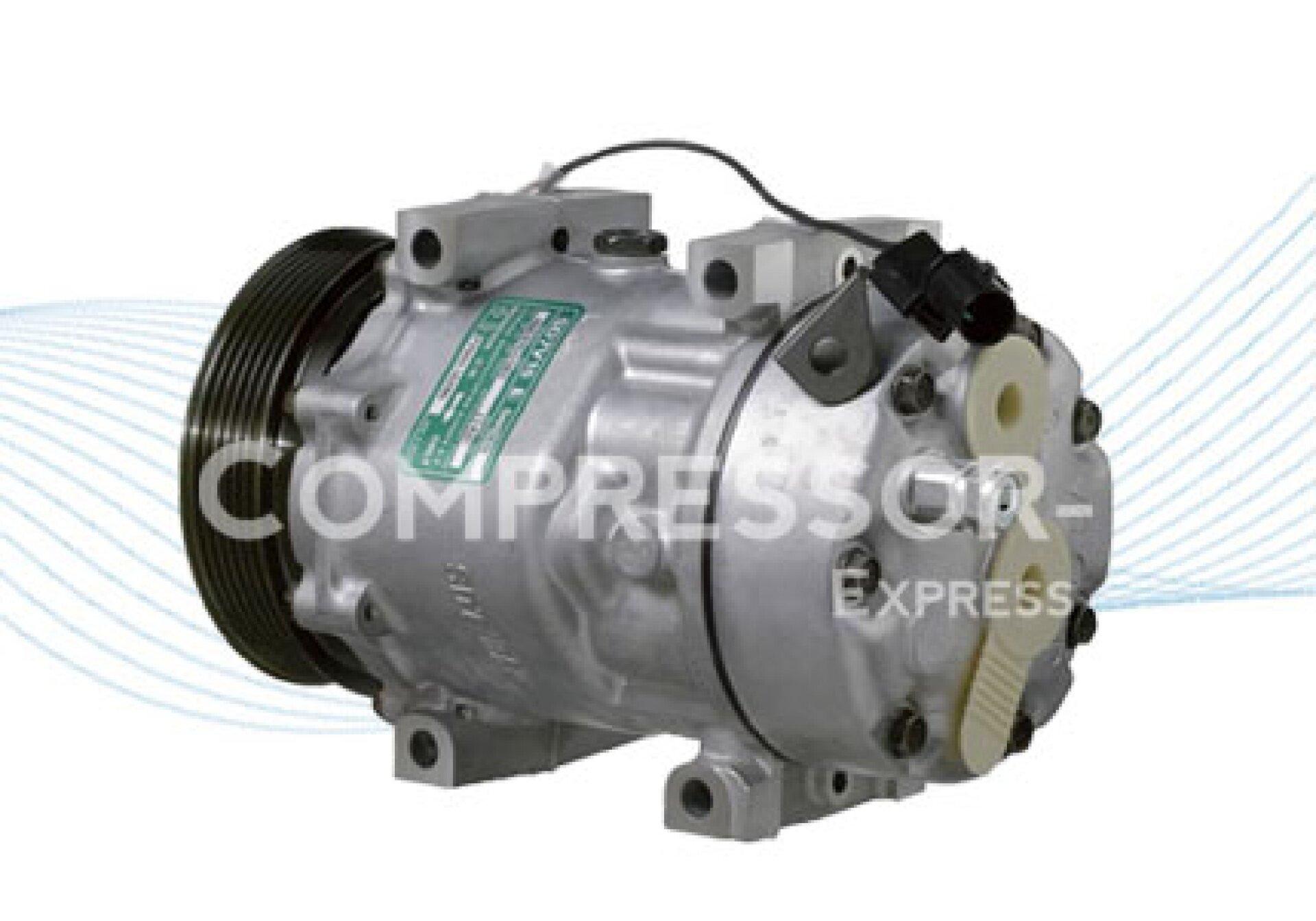 Sanden 7V16 AC Compressor 1142 30805511