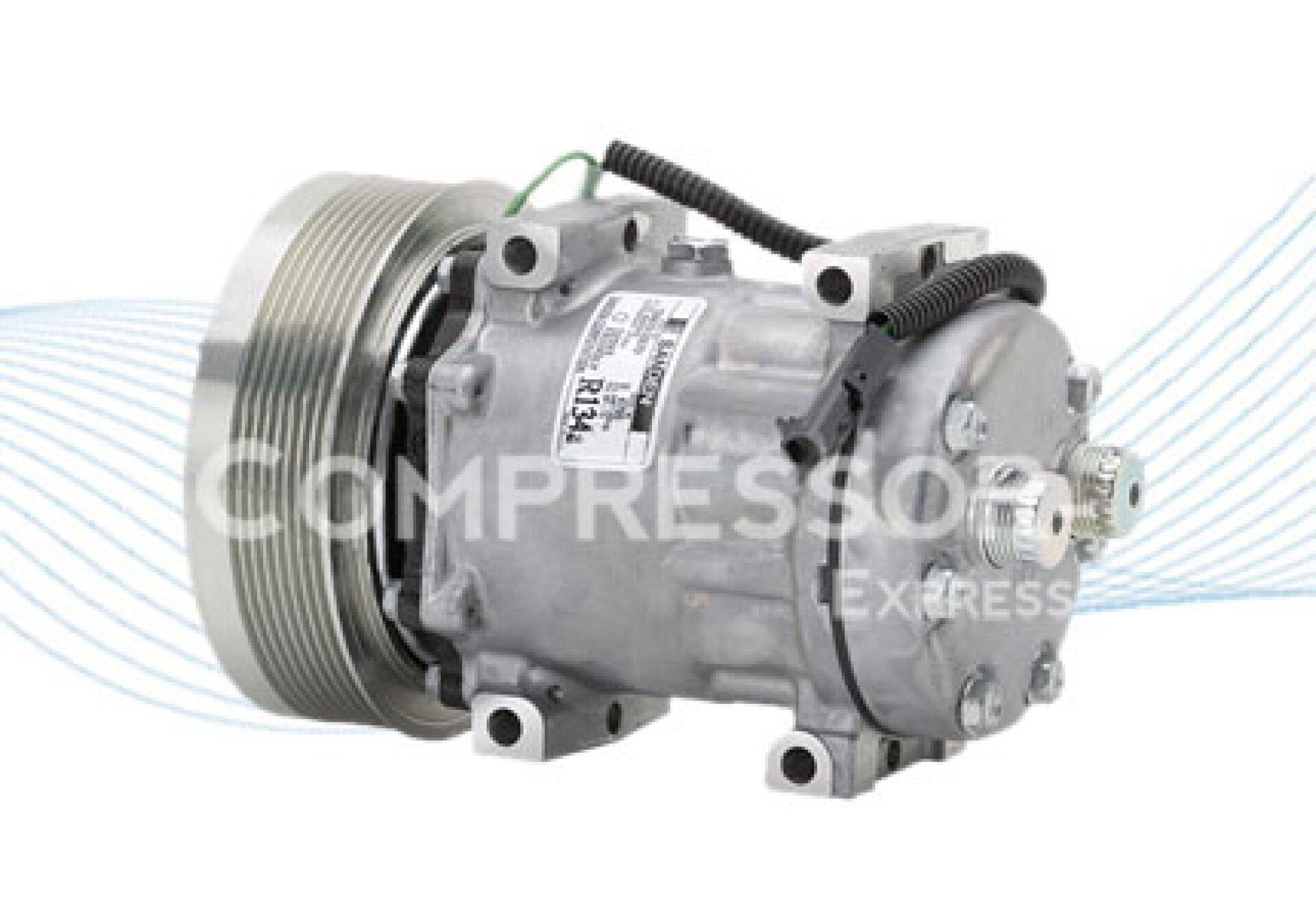 Sanden 7h15 compresor de aire acondicionado 4300 352524a2 for Compresor de aire acondicionado