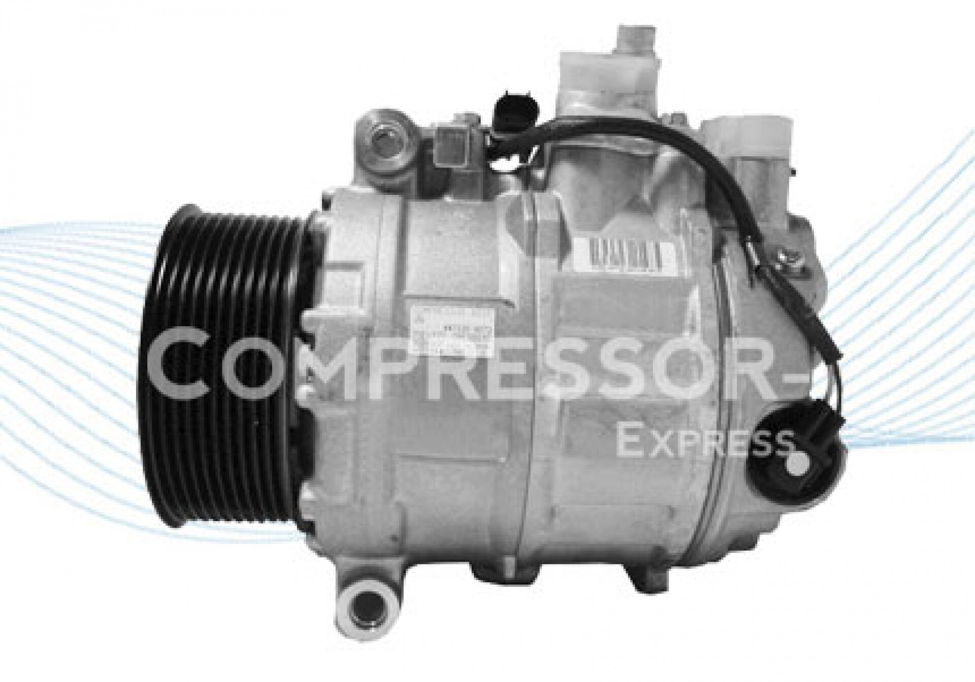 Denso 7seu17c compresor de aire acondicionado 447180 3573 for Compresor de aire acondicionado