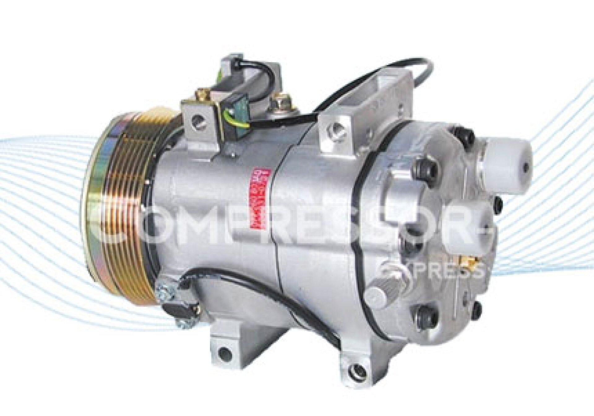 Zexel dcw17 compresor de aire acondicionado 077260803ac for Compresor de aire acondicionado