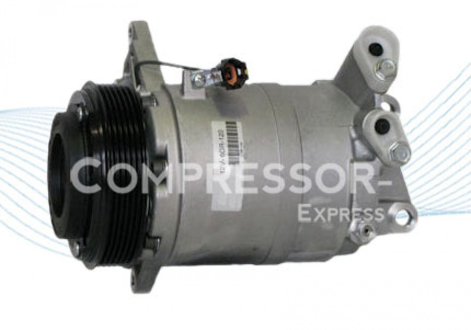 Zexel dks 17ds compresor de aire acondicionado 506012 0282 for Compresor de aire acondicionado